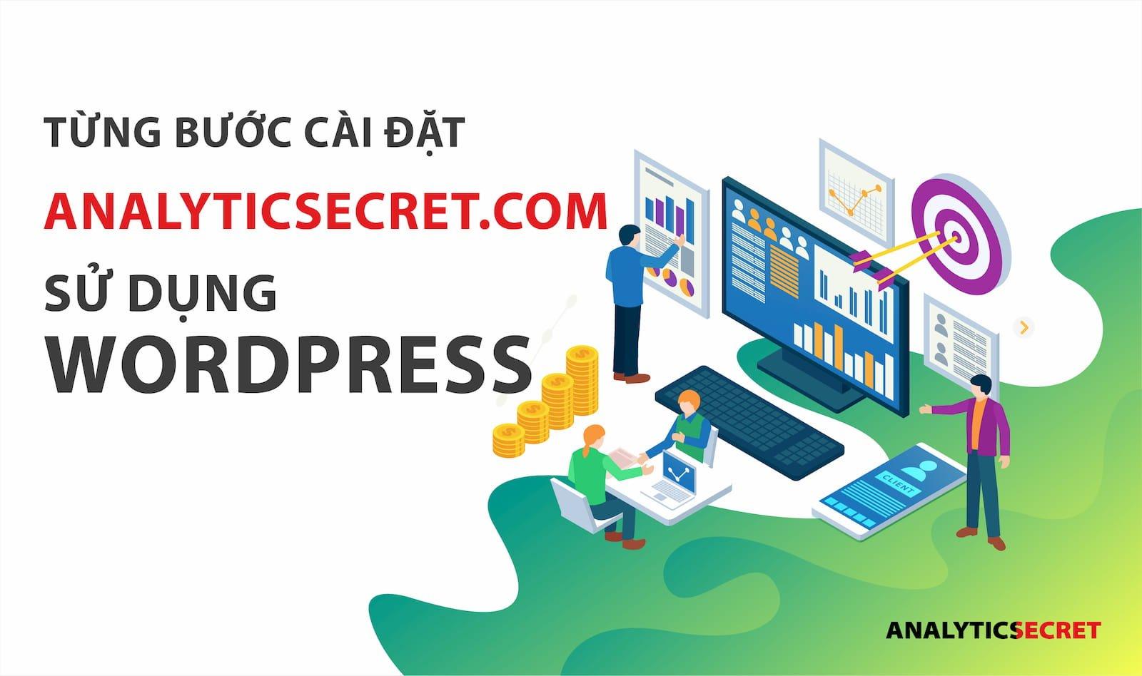 Từng bước cài đặt Analyticsecret.com bằng wordpress-02